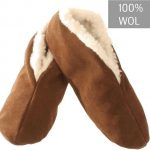 Bernardino Spaanse Sloffen Unisex – bruin – Maat 39 – 100% wol