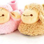 Dieren pantoffel kinderen schaap maat 34-35 roze