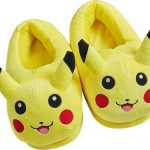 Pikachu Pokémon pantoffel Pikachu onesie dieren sloffen geel maat 27/28