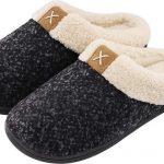 Pantoffels Dames – Sloffen – Maat 38/39 – Zwart – Anti-slip – Comfeet